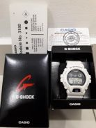 G-shock white color watch