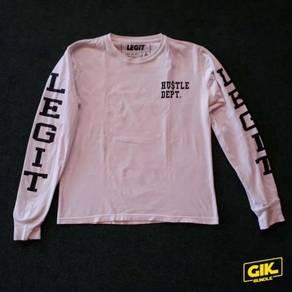 T-Shirt Legit Brand Lokal Long Sleeve Tshirt