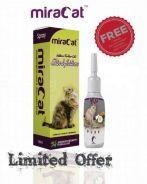 MiraCat Spray 100ml FREE Coconut Oil