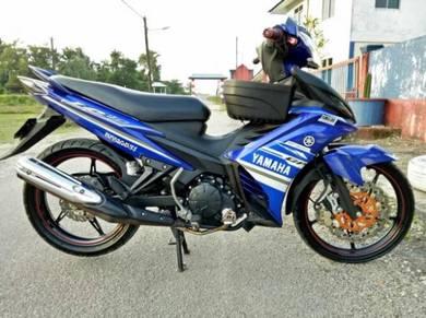 Yamaha 135 LC 5-speed Biru GP cantik
