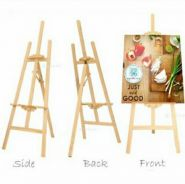 Baru Easel Wooden Stand Canvas Calligraphy