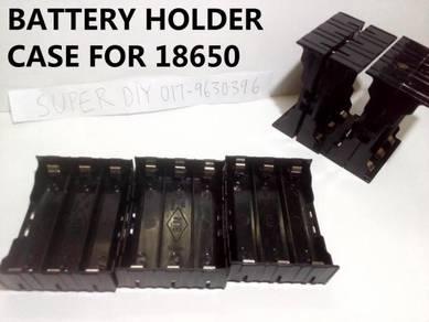 3 Battery Case Hodlder 18650 3 bateri kotak 18650