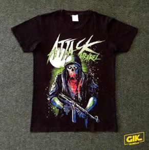 T-Shirt Attack Apparel Brand Lokal Tshirt