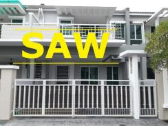 Dua Villas 2 Storey Terrace 2650sqft One Residence Sungai Ara
