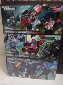 Transformers Generation set 3 New 9pcs Deluxe