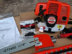 Chainsaw & trimmer ( 2 fungsi)