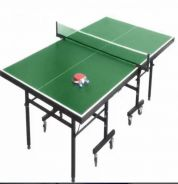 Pro Full Sized Foldable Ping Pong Table (Green)
