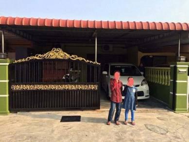 Taman Mas Setiawan Perak 20x70 renovated di pusat bandar Sitiawan