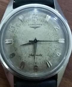 Vintage longines bubble back watch