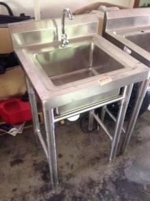 Morningstar 304 Stainless steel sink on legs XL