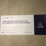 Hatten Hotel Room Voucher