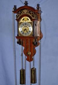 Dutch wuba sallander mechanical wall clock