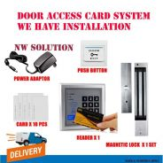 7.Easy Door access magnetic pin / card system+45yr