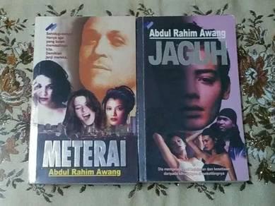 Novel Koleksi Abdul Rahim Awang