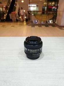 Nikon af 35mm f2d lens (99% new)