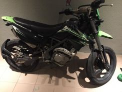 Kawasaki D-Tracker 2013 not KLX150 with surf rack