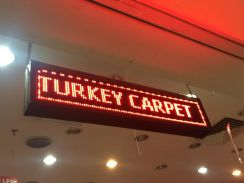 [Baru] signboard LED Display Board FREE pos