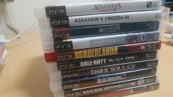 10 Original Playstation 3 games