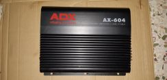 Car audio amplifier cd player and changer