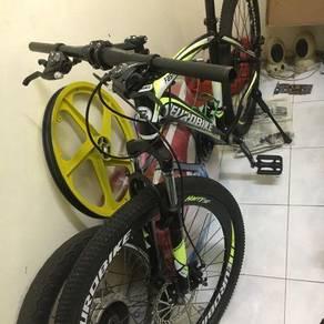 Basikal MTB EuroBike(Rosak)
