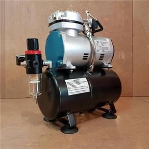 Airbrush Auto-Stop Quiet Mini Air Compressor With