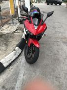 Yamaha R25 Red