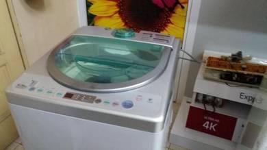 Panasonic 7kg Washing Machine NA-F70 - terpakai