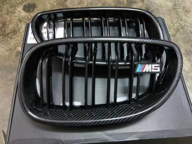 BMW E60 m5 carbon grill