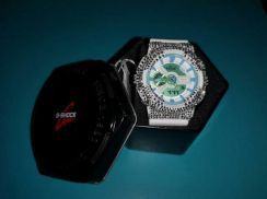 Casio g-shock crystal ga-110wg-7a