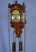 Dutch wuba sallander mechanical wall clock