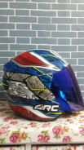 Helmet arc news
