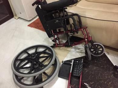 Wheelchair senang angkut