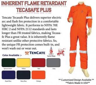 Fire retardant coverall Kalis api
