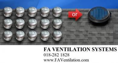 FA G24TGF Solar / Wind Turbine Ventilator Fan US