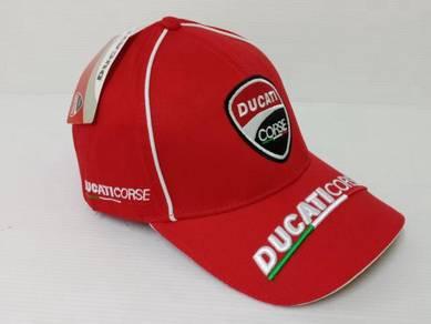 Ducati Corse Cap - Red