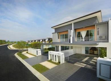 [FreeHold,100%Loan] 2 Storey House 22x80 Nr SG BESI , UPM