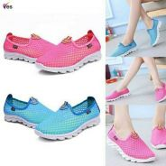 Sports shoes red size 38 blue size 39