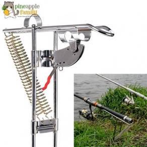 Automatic fish pole stand 08
