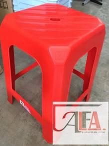3V Plastic chair Stool Bangku Kerusi Plastik