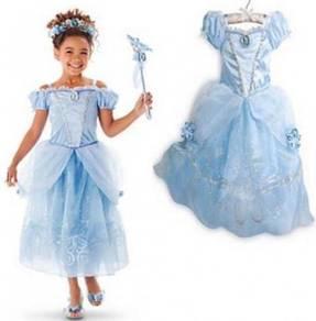 FREE TIARA* Princess Belle Elegance Costume Dress