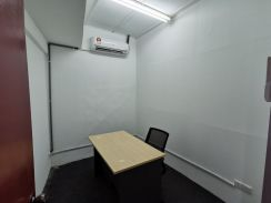 Shared Cube Offices With Internet, Aircond and Office Desk and Chair