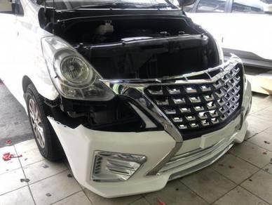 Hyundai starex 2017 bodykit body kit bumper