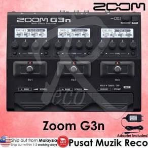 Zoom G3n Guitar Multi Effect Pedal FR EE Adapter