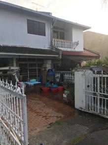 Johor jaya double storey house for sale