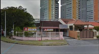 Commercial Semi D CORNER UNIT main road 5800Sf greenlane Batu lanchang