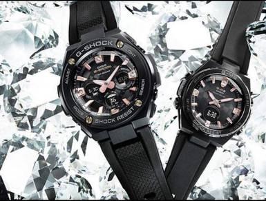 G-Shock Genuine Diamond Index Couple watch