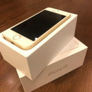 Selling Used iPhone SE Gold 64GB