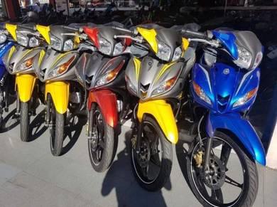 Yamaha Lagenda 115z Wang Muka Seratus