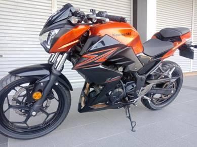 Kawasaki z250 condition baru