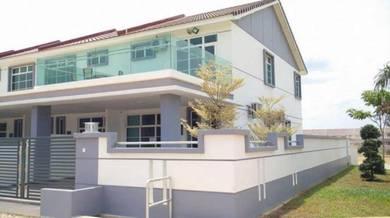 New 2 Storey Modern Terrace House At Jln Bypass, Kuantan(Near Semambu)
